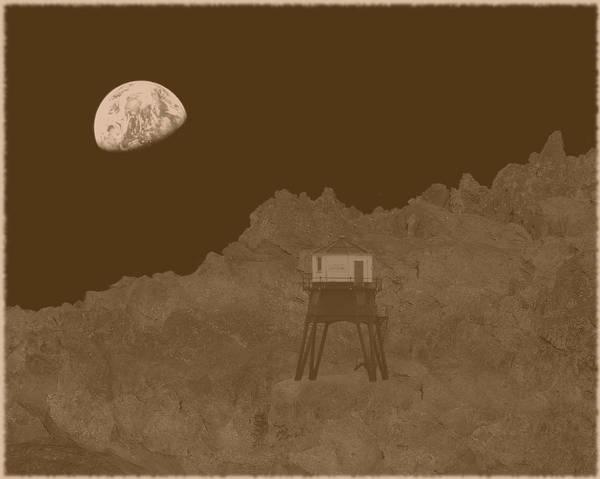 Photograph - Steampunk - Brunel Moon Lander by Richard Reeve