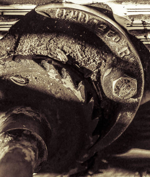 Photograph - Steampunk Cable Car Brake by Scott Campbell