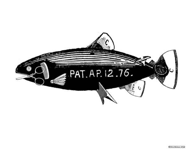 Digital Art - Steampunk Fish by Eric Edelman