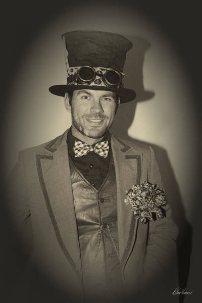 Photograph - Steampunk Gentleman by Diana Haronis