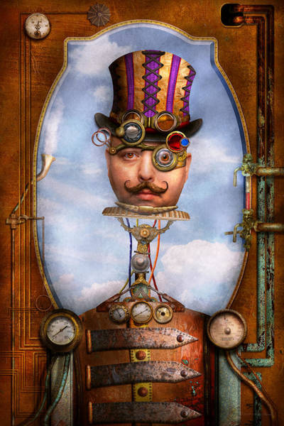 Geek Photograph - Steampunk - Integrated by Mike Savad