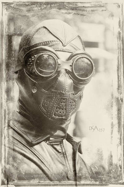 Steampunk Photograph - Steampunk Ninja by David April