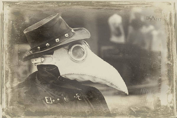 Steampunk Photograph - Steampunk Plague Doctor by David April