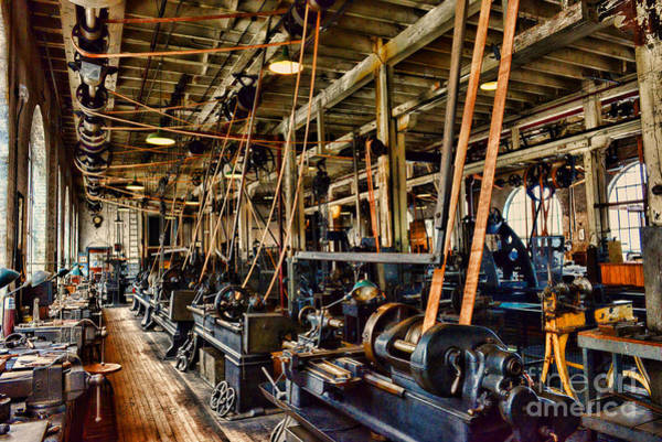 Wall Art - Photograph - Steampunk - The Age Of Industry by Paul Ward