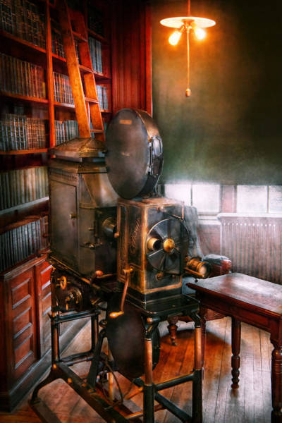 Photograph - Steampunk - The Golden Age Of Cinema by Mike Savad