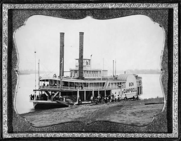 Photograph - Steamship, C1852 by Granger