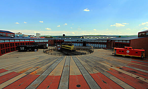 Photograph - Steamtown by Trina  Ansel