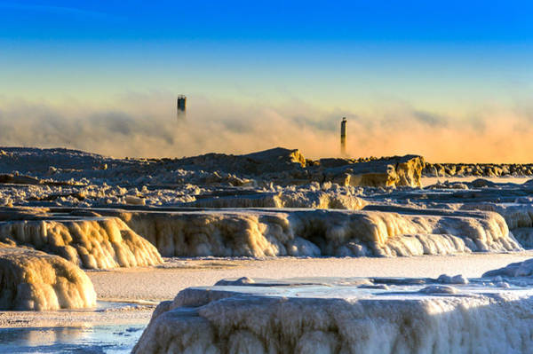 Photograph - Steamy Iceburgs by James  Meyer