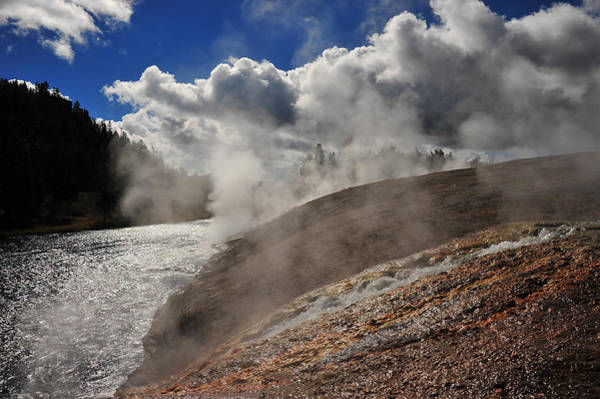 Photograph - Steamy River by Harry Spitz