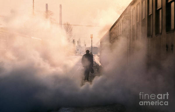 Sleeper Wall Art - Photograph - Steamy Station by Rod McLean