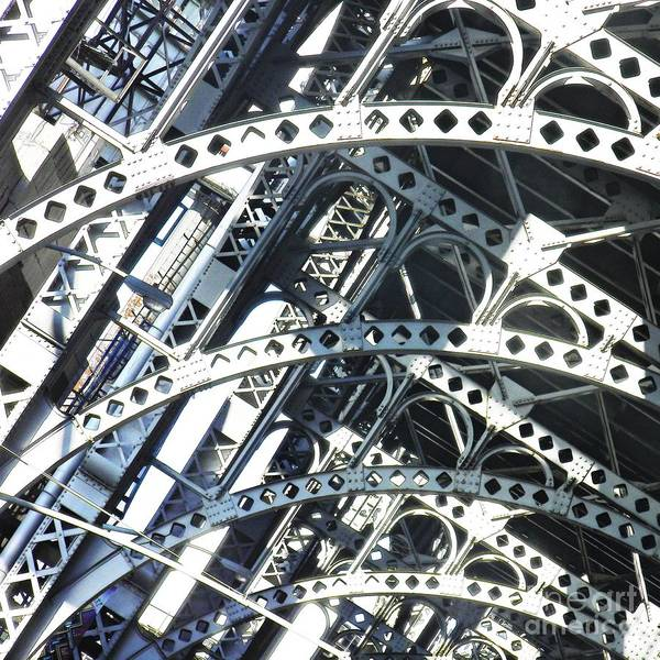 Sarah Photograph - Steel Arches by Sarah Loft