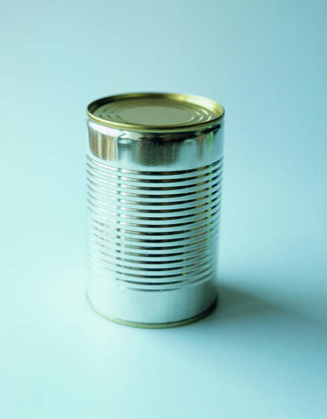 Preservative Wall Art - Photograph - Steel Can by Cristina Pedrazzini/science Photo Library