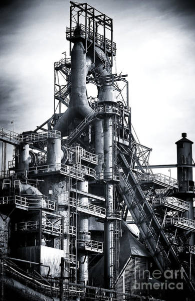 Photograph - Steel Giant by John Rizzuto