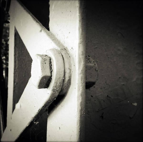 Steel Beams Wall Art - Photograph - Steel Girder by Les Cunliffe