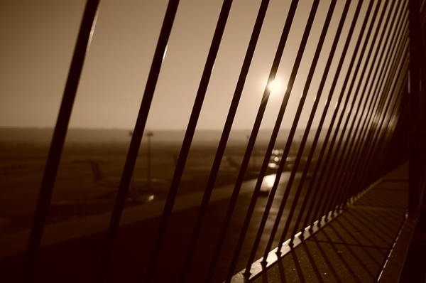 Photograph - Steel Horizon by Miguel Winterpacht