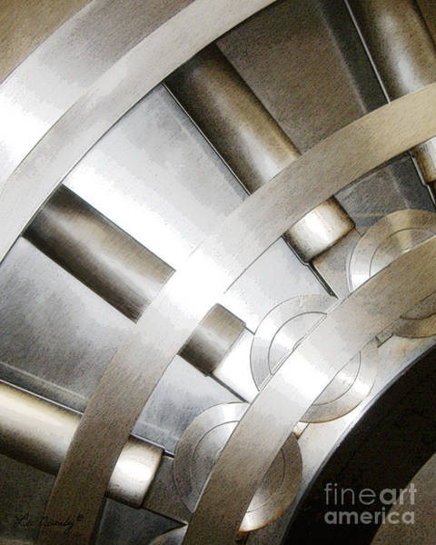 Photograph - Steel by Lee Owenby