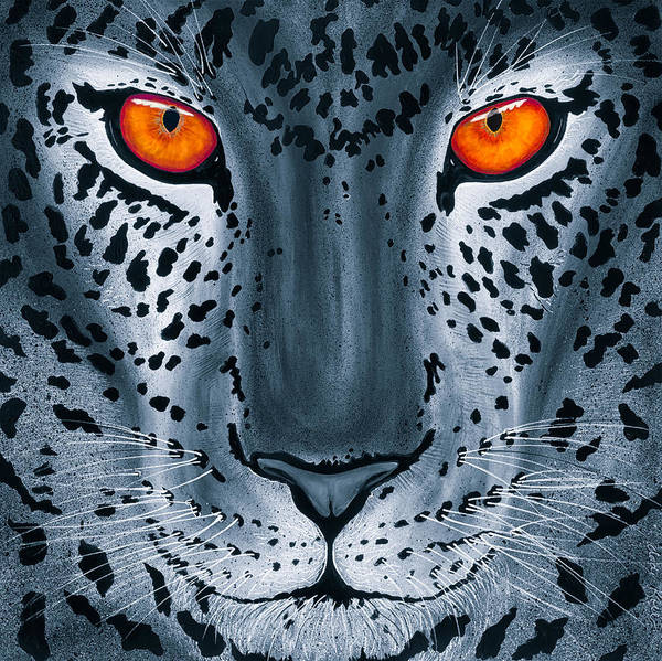 Painting - Steel Leopard by Dede Koll