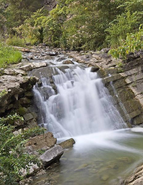 Wall Art - Photograph - Steele Creek Park - Bristol - Waterfall by Brendan Reals