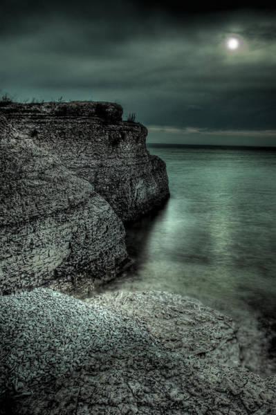Steep Photograph - Steep Rock Moon by Bryan Scott
