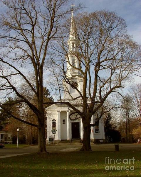 Photograph - Steeple In The Trees by Donna Cavanaugh