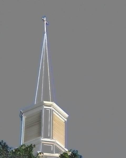 Photograph - Steeple  by Jerry Sodorff