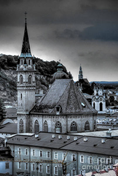 Steeples Over Innsbruck Art Print