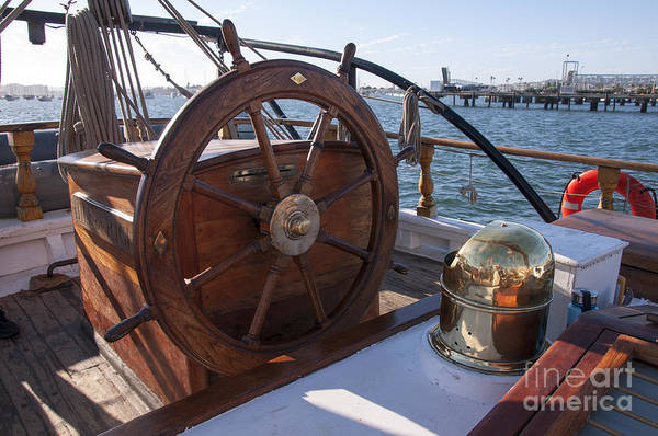Photograph - Steering To Adventure On The Open Sea by Brenda Kean