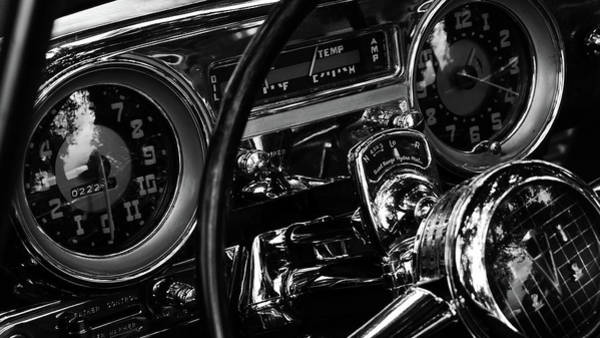 Photograph - Steering Wheel And Dashboard Of Antique by Alex Browne / Eyeem