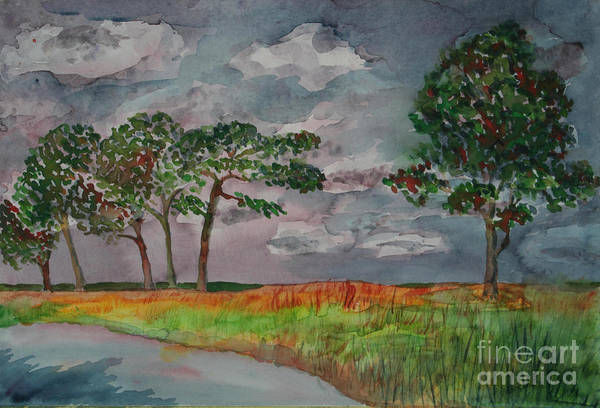 Baltic Sea Painting - Steife Brise by Almo M