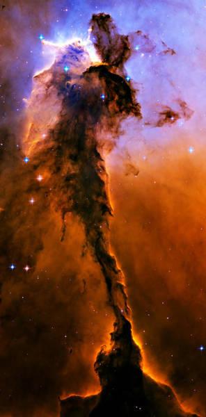 Wall Art - Photograph - Stellar Spire In The Eagle Nebula by Ricky Barnard