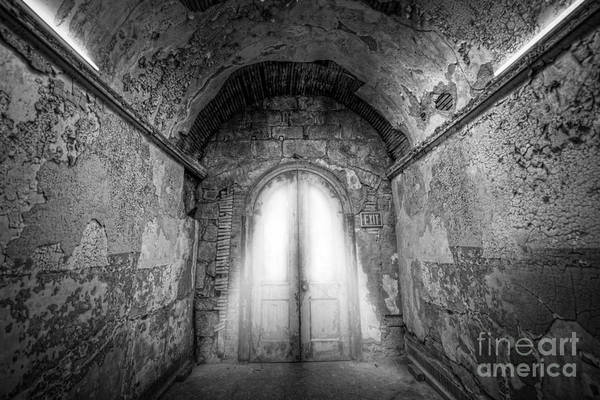Nikon D800 Wall Art - Photograph - Step Into The Light Black And White by Michael Ver Sprill