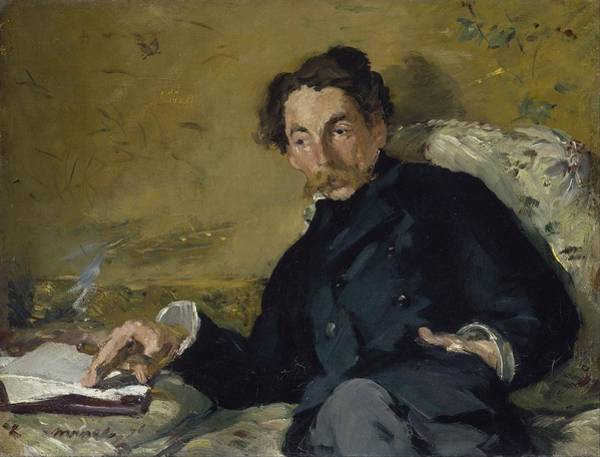 Wall Art - Painting - Stephane Mallarme by Edouard Manet