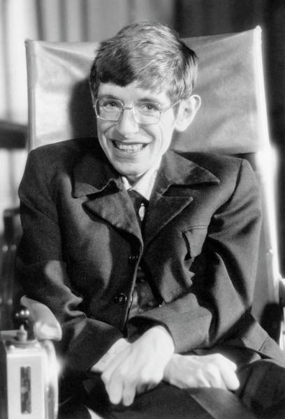 Wall Art - Photograph - Stephen Hawking by Emilio Segre Visual Archives/american Institute Of Physics/science Photo Library