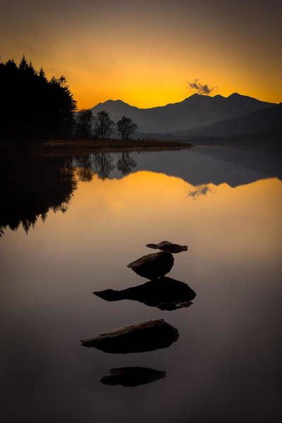 Photograph - Stepping Stones To Snowdon by Peter OReilly