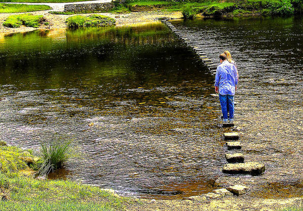 Wall Art - Photograph - Stepping Stones by Trevor Kersley