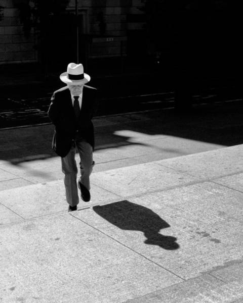 Steps Of Metropolitan Museum Art Print