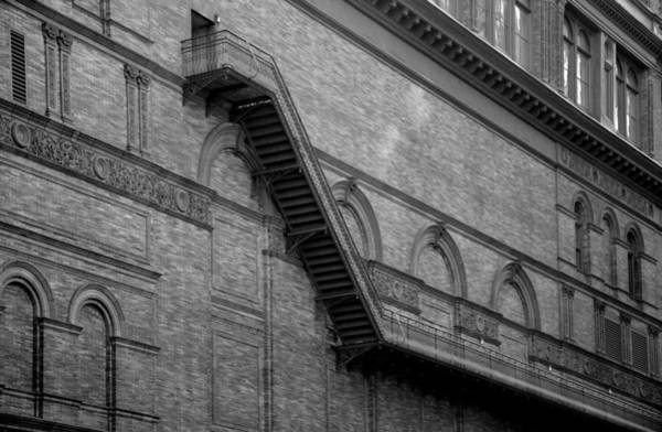 Photograph - Steps On 7th Avenue  - New York by Marianna Mills