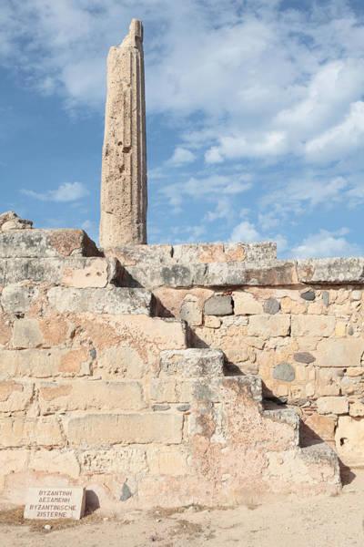 Photograph - Steps To Apollo Column by Paul Cowan