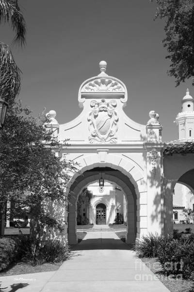 Photograph - Stetson University College Of Law Plaza Mayor Gate by University Icons