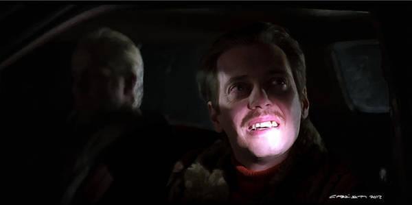 Digital Art - Steve Buscemi As Carl Showalter In The Film Fargo By Joel And Ethan Coen by Gabriel T Toro
