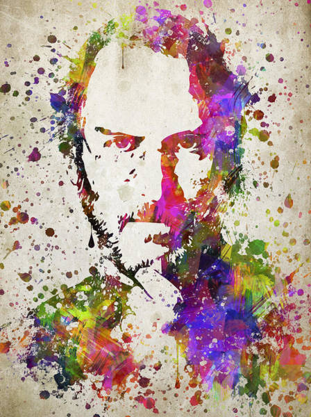 Wall Art - Digital Art - Steve Jobs In Color by Aged Pixel