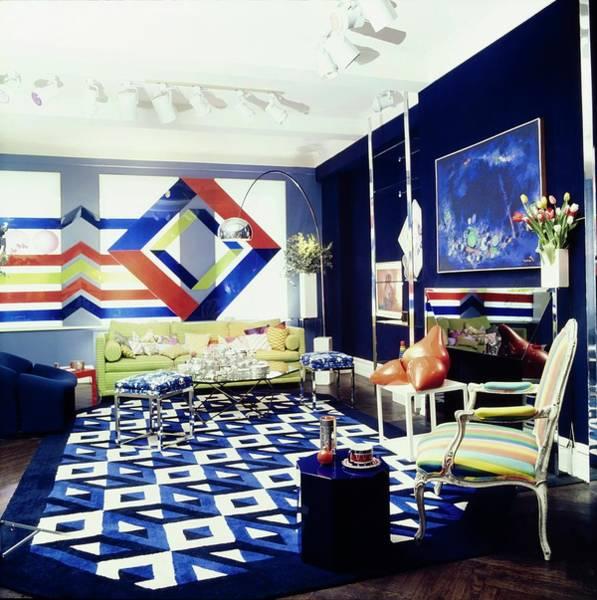 Modernist Photograph - Steven Jacobson's Living Room by Horst P. Horst