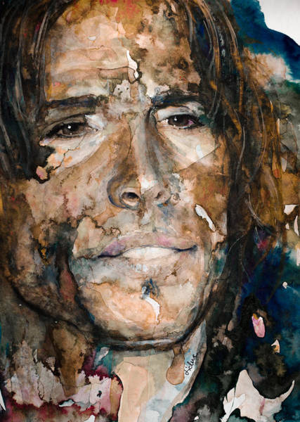 Steven Tyler Painting - Get Your Wings by Laur Iduc