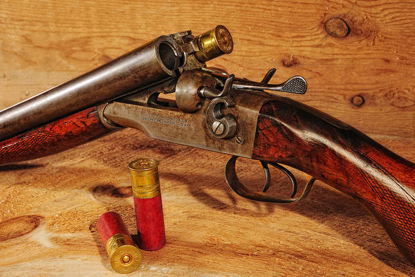 Photograph - Stevens Double Barrel by John Kiss