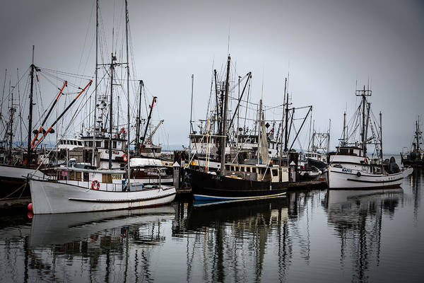 Steveston Harbour Art Print