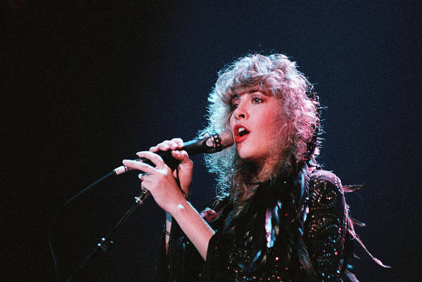 Stevie Nicks Photograph - Stevie Nicks '83 by Chris Deutsch