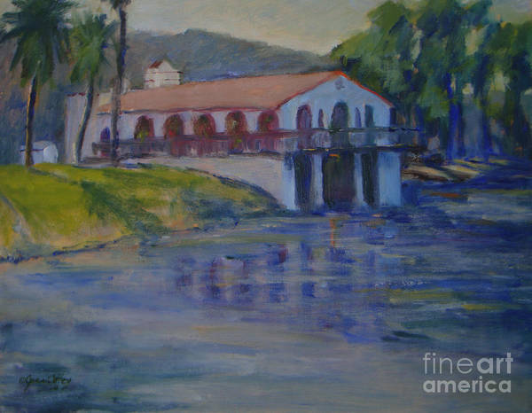 Painting - Stewarts Boat House No. 2 by Joan Coffey