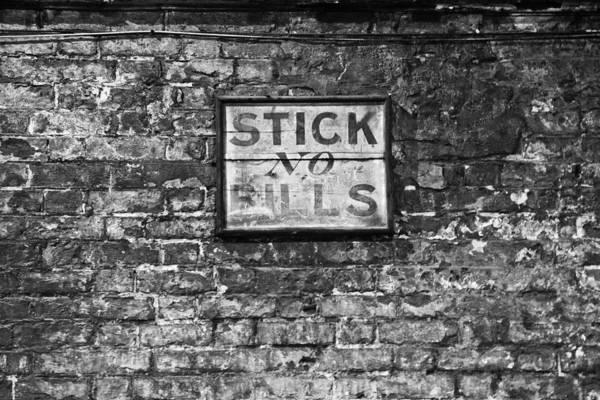 Digital Art - Stick No Bills by David Davies