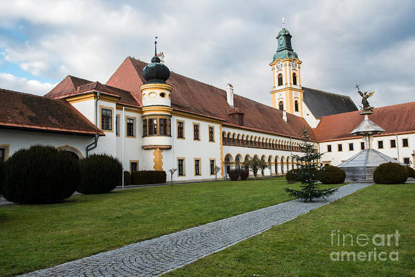Photograph - Stift Reichersberg by Hannes Cmarits