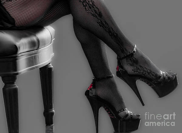 Classy Photograph - Stilettos by Bianca Nadeau